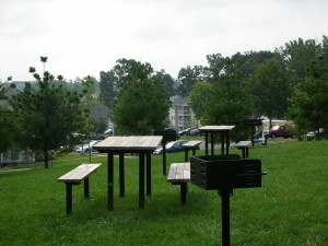 Picnic Area with BBQ Grills