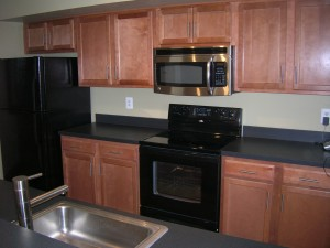 1 Deluxe Kitchen with optional Microwave